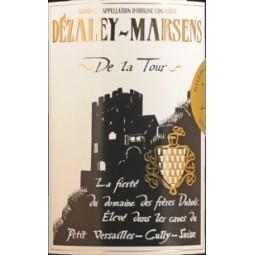 """DÉZALEY-MARSENS GRAND CRU AOC """"De la Tour"""" - Vase n°4 (etiquette)"""