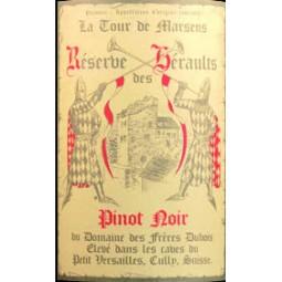 RÉSERVE DES HÉRAULTS, Les Frères Dubois (étiquette)