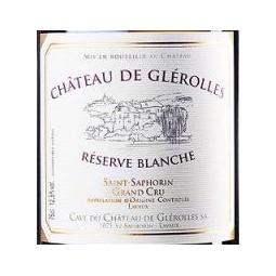 RÉSERVE BLANCHE, Château de Glérolles