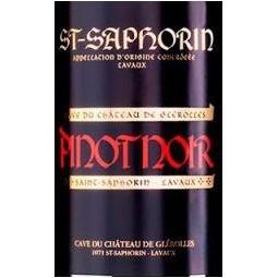 Pinot Noir, Château de Glérolles (étiquette)