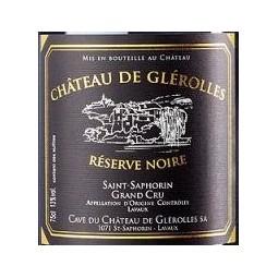 Réserve Noire, Château de Glerolles (étiquette)