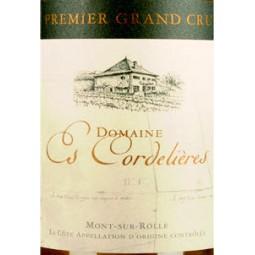Domaine Es Cordelières Premier Grand Cru, Greanicher (étiquette)