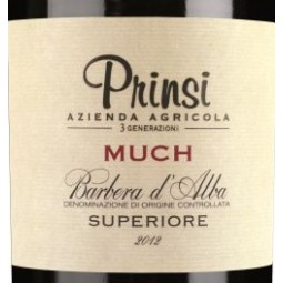 Much, Barbera d'Alba DOC Superiore, Prinsi